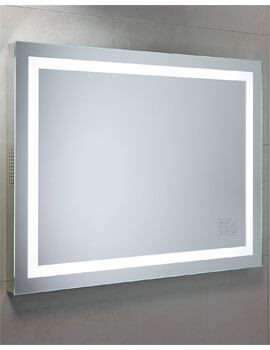 Roper Rhodes Beat Bluetooth Mirror 800 x 600mm Chrome - MLE420 - Image