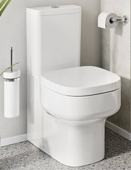 Crosswater Kai S Compact Close Coupled Toilet With Cistern And Soft Close Seat