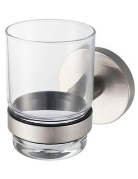 Aqualux Pro 2500 Brushed Glass Holder Single - Image