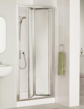 Lakes Classic Silver Framed Bi-Fold Door 700 x 1850mm