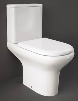 RAK Compact Full Access Close Coupled WC Pack With Urea Soft Close Seat - Image