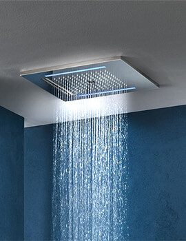 Crosswater Revive Twist Wire Chromotherapy Shower Head