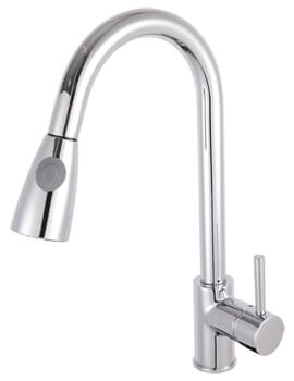 Nuie Pull-Out Kitchen Sink Mixer Tap - Image
