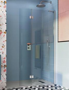 Crosswater Design Plus Walk In Easy Access Shower Enclosure