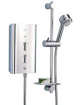 Mira Escape Thermostatic Electric Shower 9.8KW Chrome Finish - 1.1563.011