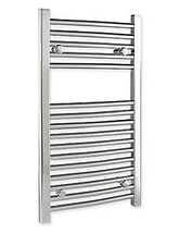 Tivolis 500 x 800mm Heated Chrome Towel Radiator