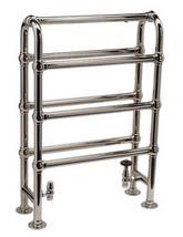 DQ Heating Hilborough Floor Standing Traditional Towel Rail 846 x 1032mm