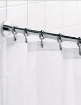 Croydex Luxury Round Shower Curtain Rail Rod - AD116541