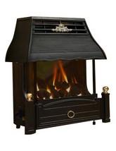 Flavel Emberglow Manual Control Outset LPG Gas Fire Black - FEMC00EP