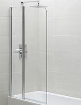 April Identiti2 900 x 1400mm Fixed Panel Bath Screen