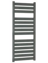 Bauhaus Edge Flat Panel Towel Rail Anthracite 500 x 1150mm