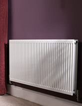 Quinn Round Top Single Panel Convector Radiator