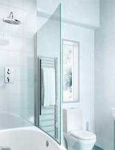 Cleargreen Ecocurve Bathscreen 850 x 1450mm