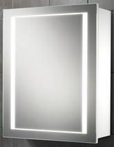 HIB Austin Single Door LED Back-Lit Illuminated Cabinet 500 x 630mm