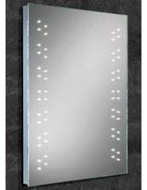 HIB Vercelli Bathroom Steam Free Mirror with LED Lights 500 x 700mm - 77404000