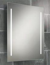 HIB Casey Fluorescent Back-Lit Mirror 600 x 800mm - 77309000