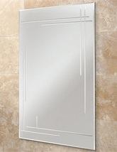 HIB Opus Rectangular Bevelled Edge Bathroom Mirror 500 x 700mm
