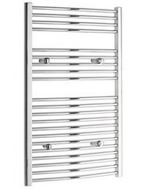 Tivolis 700 x 1000mm Heated Chrome Towel Warmer