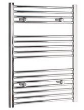 Tivolis Straight Towel Radiator In Chrome Finish - 500 x 800mm
