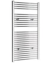 Tivolis Straight Towel Warmer In Chrome Finish - 500 x 1200mm