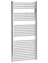Bauhaus Design Flat Panel Towel Rail 600 x 1430mm Chrome - DE60X143C