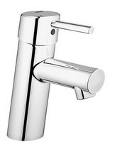 Grohe Concetto Half Inch Basin Mixer Tap Chrome Without Waste - 3224010L
