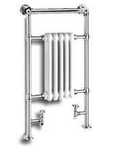 Reina Oxford Traditional Chrome Radiator 538 x 960mm - RND-OXF01