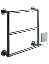 Vogue Venice Electric Towel Rail Depth 120mm