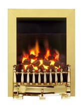 Blenheim C1 Full Depth Manual Control Inset Gas Fire Brass