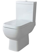 RAK Series 600 Close Coupled WC Pack With Soft Close Seat 600mm