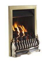 Flavel Richmond Slide Control Inset Gas Fire Brass - FICC42SN
