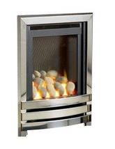 Linear HE Manual Control Full Depth Gas Fire Chrome-Pebble - FHLPX0MN2