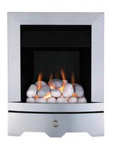 Valor Seattle Slimline Inset Gas Fire Chrome - 0595603