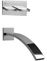 Porcelanosa Noken Imagine Wall Mounted Concealed Bath Mixer Tap