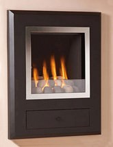 Flavel Finesse Hole In The Wall Gas Fire Chrome-Pebble - FSRPYYMN