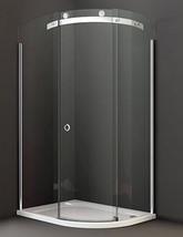Merlyn 10 Series 1000 x 800mm 1 Door Offset Quadrant Enclosure Left Hand