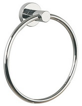 Miller Bond Chrome Finish Towel Ring - 8705C