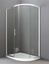 Merlyn 8 Series 1200 x 800mm 1 Door Offset Quadrant Enclosure - M83243
