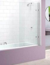 Merlyn Ionic Hinged Square Bath Screen 850 x 1500mm - MB6