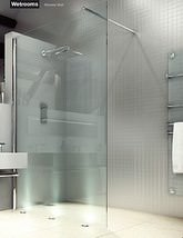 Merlyn 8 Series Wetroom Shower Panel 800mm - M8SW211