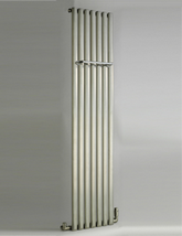 DQ Heating Cove 1800mm High Stainless Steel Single Vertical Radiator