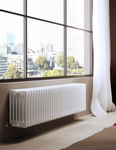 DQ Heating Modus 6 Column White Radiator - 4 To 44 Sections