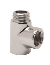 DQ Heating Tee Piece For Dual Fuel Towel Rails