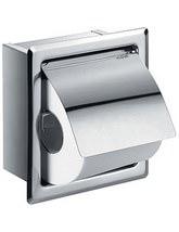 Flova Gloria Single Concealed Toilet Roll Holder - GL8965