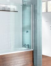 Simpsons Design Semi Frame-less Single Bath Screen - DBSSC0850