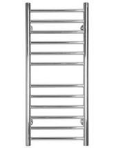 SBH Midi Slim Flat Towel Radiator 360mm x 810mm - SS205