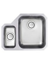 Astracast Edge D1 1.5 Bowl Polished Stainless Steel Undermount Sink