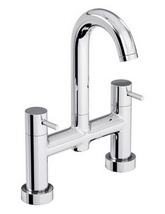 Abode Harmonie Deck Mounted Bath Filler Tap - AB1185