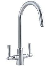 Astracast Jordan Monobloc Twin Lever Kitchen Sink Mixer Tap
