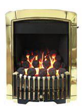 Caress Slide Control Contemporary HE Inset Gas Fire Brass - FHEC45SN